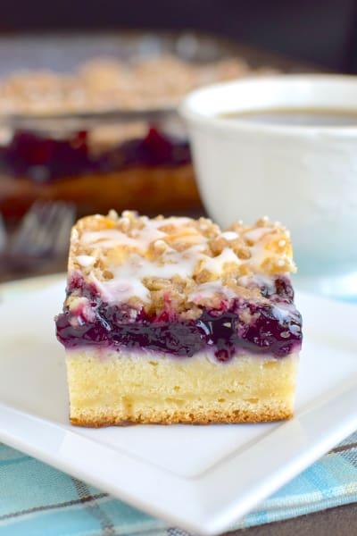 Blueberry Cream Coffee Cake Picture