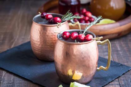 Cranberry Cider Mule