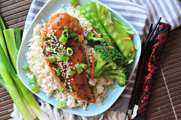 Slow Cooker Ginger Sesame Chicken Photo