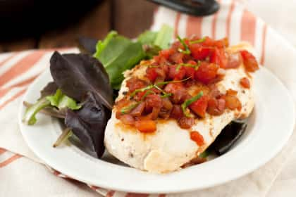 Bruschetta Chicken Skillet
