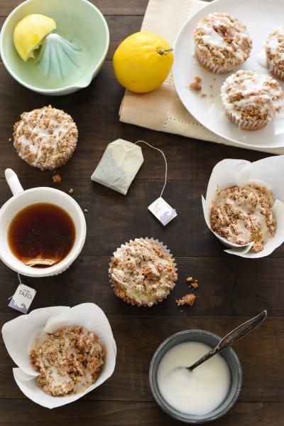 Lemon Earl Grey Streusel Muffins Pic