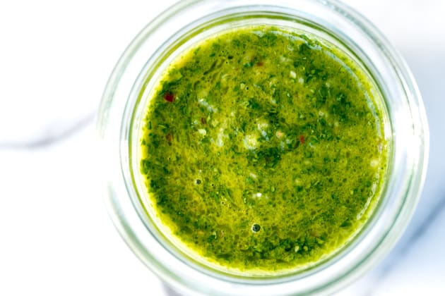 Cilantro Chimichurri Sauce Photo