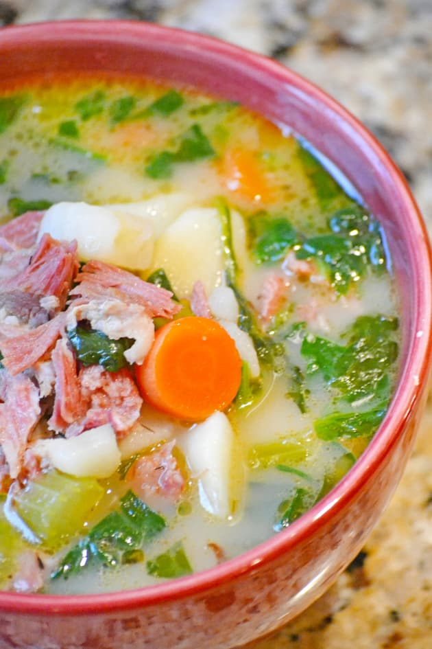 Ham Potato Soup Image