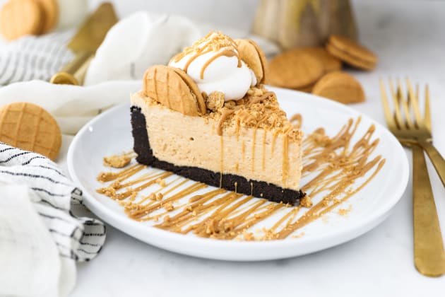 No Bake Peanut Butter Marshmallow Pie Photo