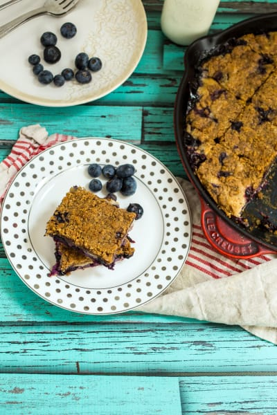 Blueberry Bourbon Buckle Picture
