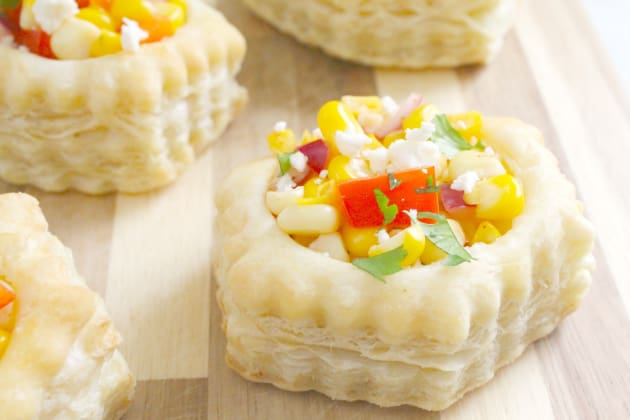 Mexican Corn Pastry Cups Photo