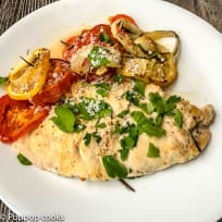 Oven Baked One Pan Chicken Dinner