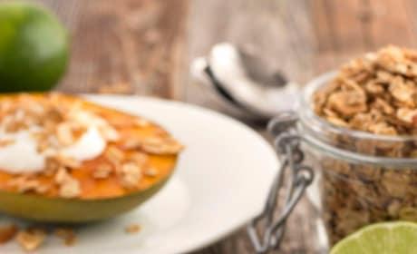 Broiled Mango with Greek Yogurt Image