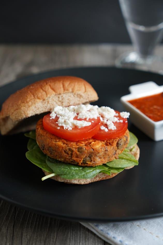 Lentil Burger Image