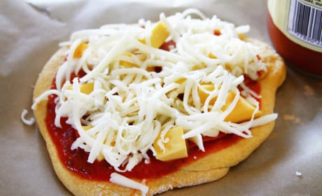 Pumpkin Pizza Dough Photo