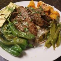Grilled Thai Steak & Veggies