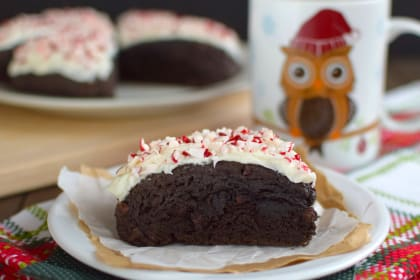 Peppermint Mocha Scones
