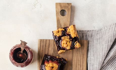 Peanut Butter and Jelly Bars Image