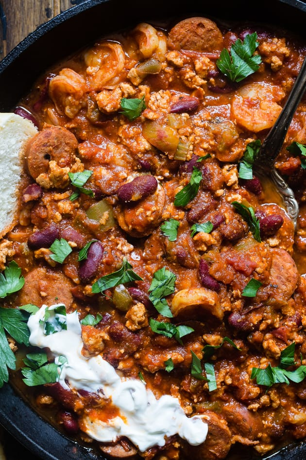 Instant Pot Cajun Chili Pic