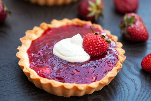 Strawberry Tartlets Photo