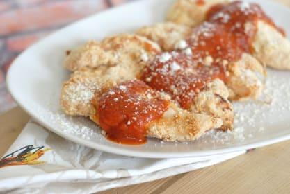 Gluten Free Parmesan Crusted Chicken Tenders