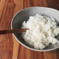 Sushi rice. Easily made and ready in 13 minutes!