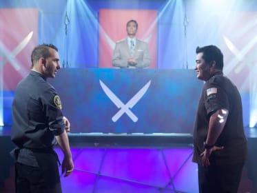 Iron Chef Tournament of Champions: Garces vs. Forgione!