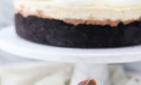 Peanut Butter Chocolate Mousse Pie Image