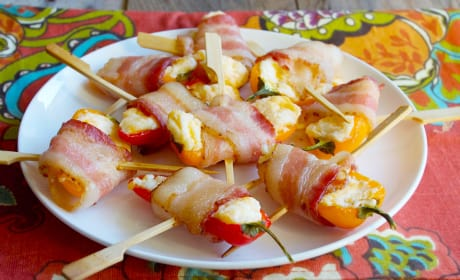 Mini Sweet Pepper Poppers Recipe