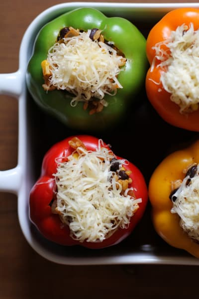 Southwest Stuffed Bell Peppers 5