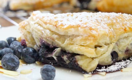 Blueberry Almond Turnovers Recipe