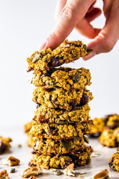 Pumpkin Breakfast Cookies Picture