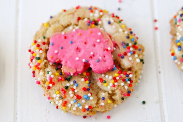 Animal Cracker Sugar Cookies Recipe