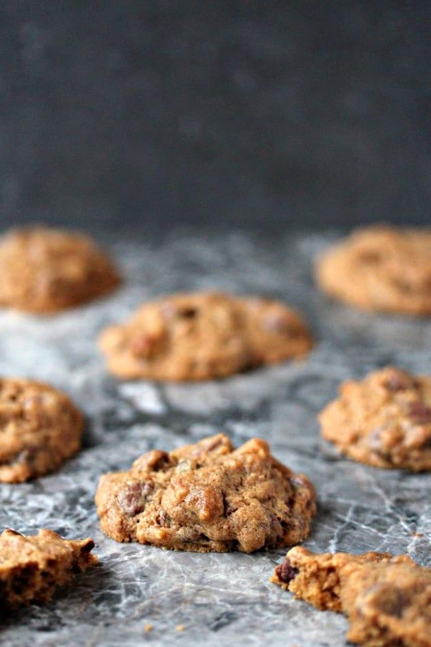 Pistachio Chocolate Chip Cookies Pic