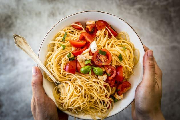 15 Minute Caprese Pasta Photo