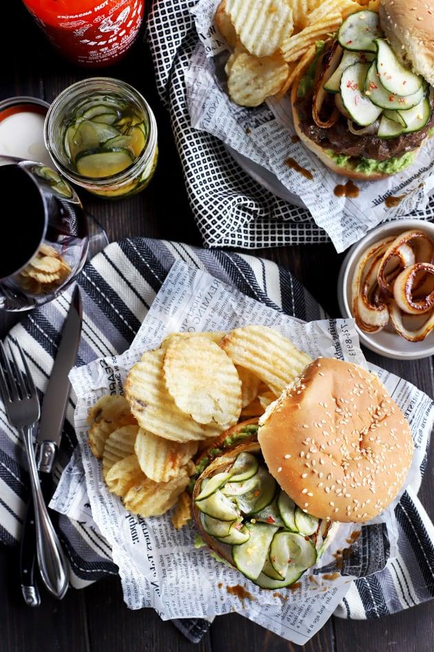Miso Glazed Burger Pic