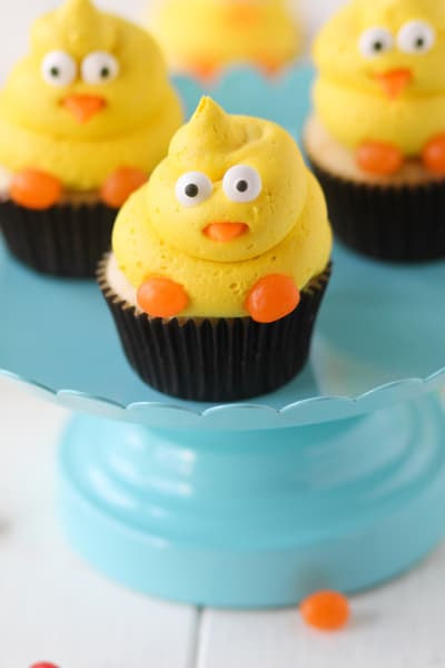 Spring Chick Cupcakes Picture