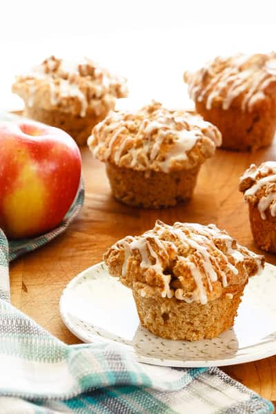 Apple Muffins with Crumb Topping Picture