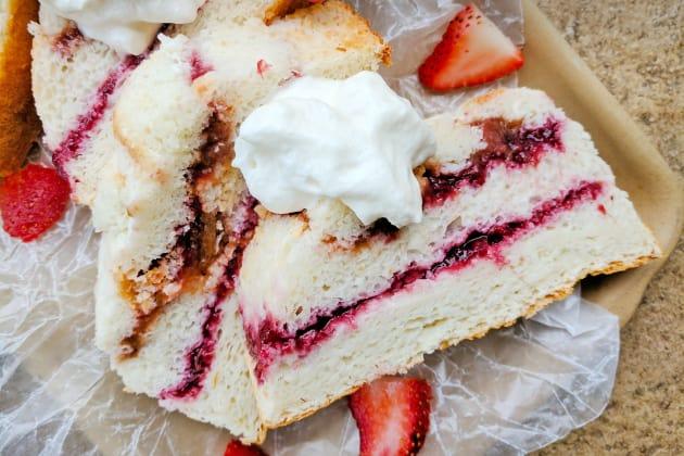 Angel Food Jam Cake Photo
