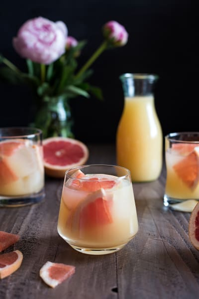 Bourbon Grapefruit Cocktail Picture