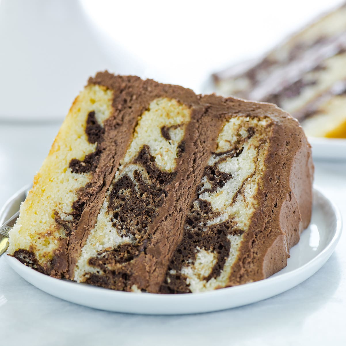 Phenomenal Gluten Free Marble Cake Recipe Food Fanatic Funny Birthday Cards Online Barepcheapnameinfo