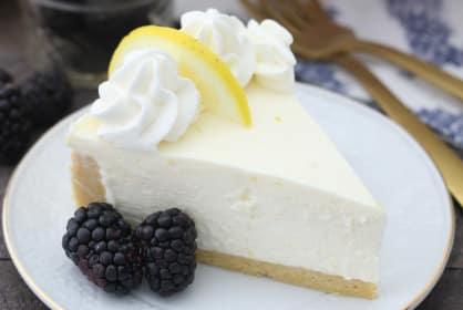 No Bake Lemon Cheesecake Recipe