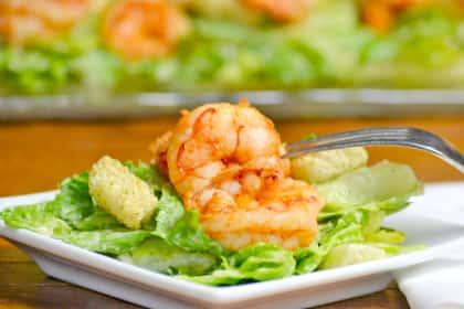 Spicy Shrimp Caesar