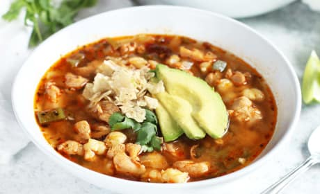 Tequila Lime Pozole Recipe