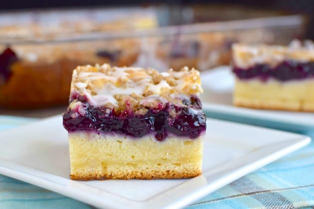 Blueberry Cream Coffee Cake Photo