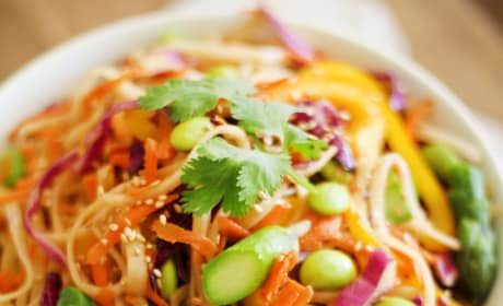 Spring Vegetable Pad Thai Picture