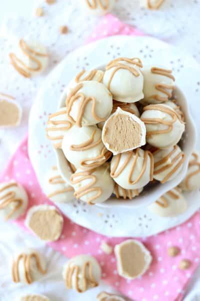 White Chocolate Buckeyes Pic