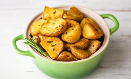 Toaster Oven Rosemary Potatoes Recipe