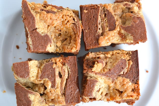 Peanut Butter Swirl Brownies Picture