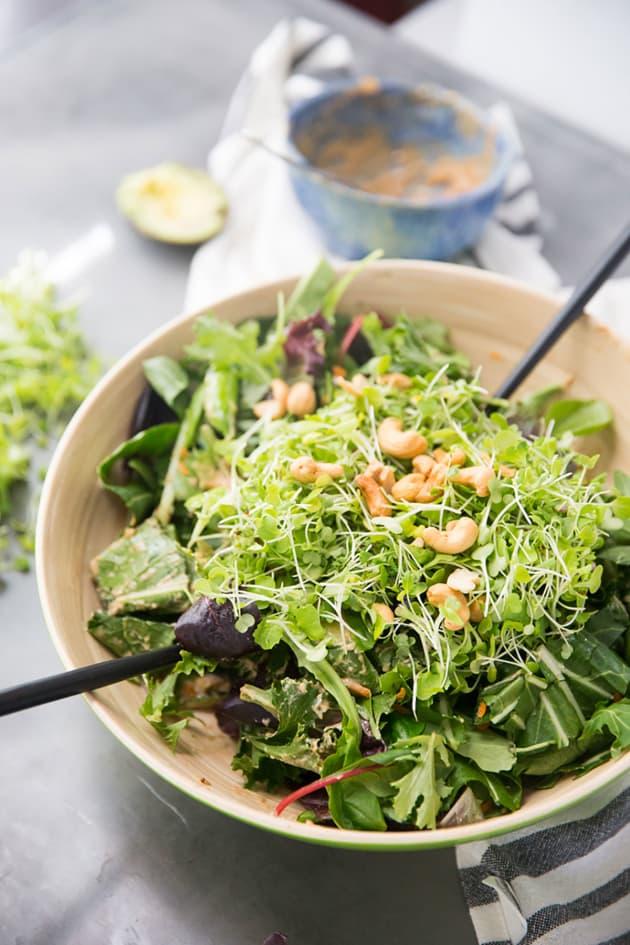 Thai Cashew Chicken Salad Image