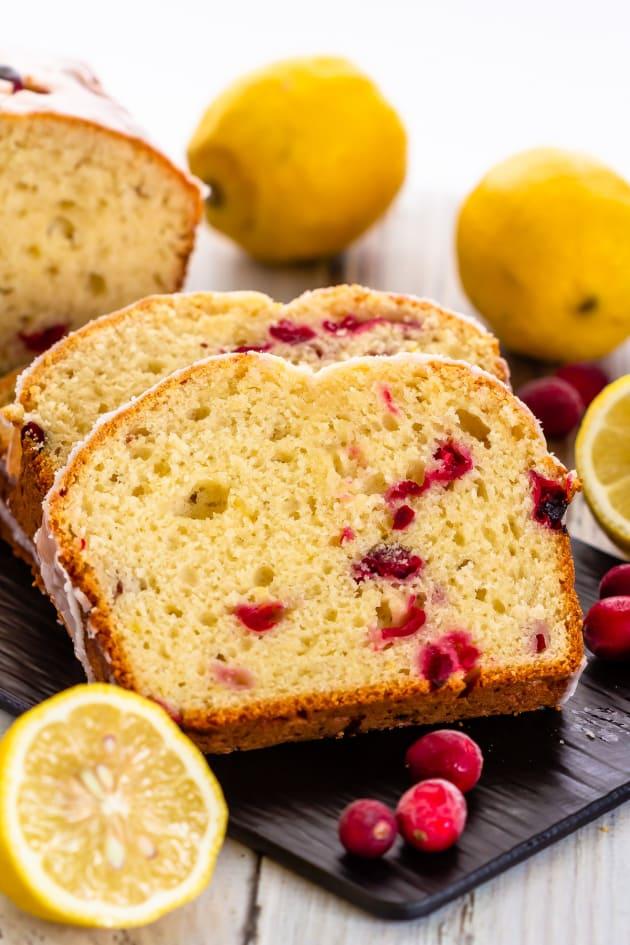 Lemon Cranberry Bread Pic