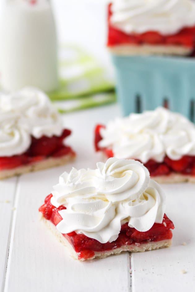 Strawberry Pie Bars Image