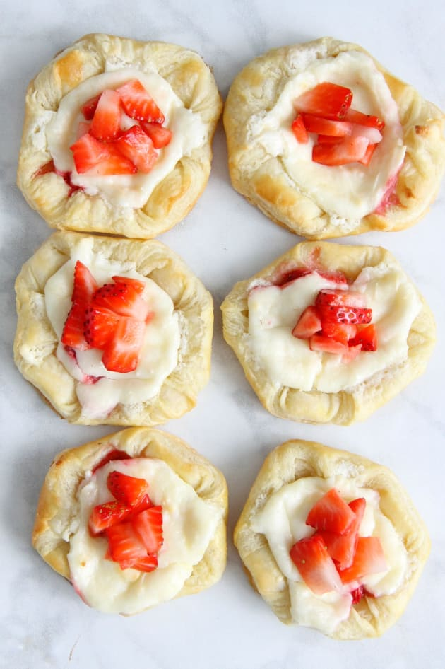 Strawberry Cream Cheese Danish Image