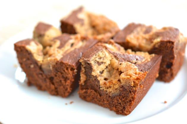 Peanut Butter Swirl Brownies Image