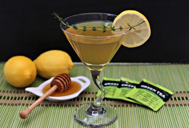 Green Tea Martini Photo